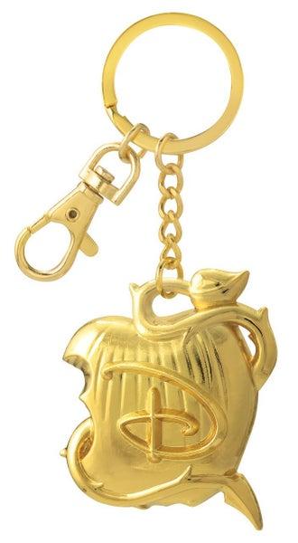 DISNEY DESCENDANTS LOGO HOLD PEWTER KEY RING