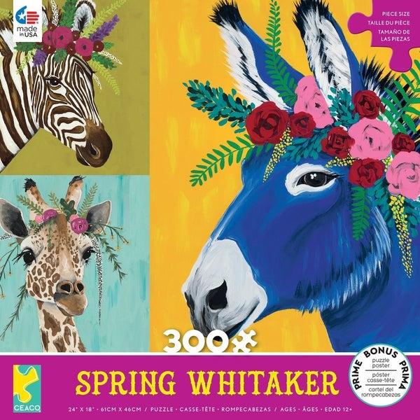 SPRING WHITAKER 300 PIECE ANIMAL PUZZLES