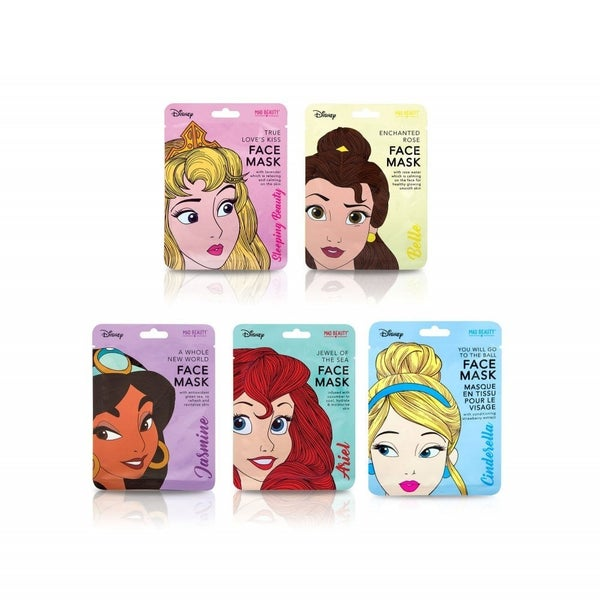 DISNEY PRINCESS BEAUTY FACE MASK TREATMENT