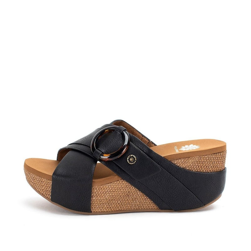 YELLOWBOX BAYOMI SANDAL - BLACK