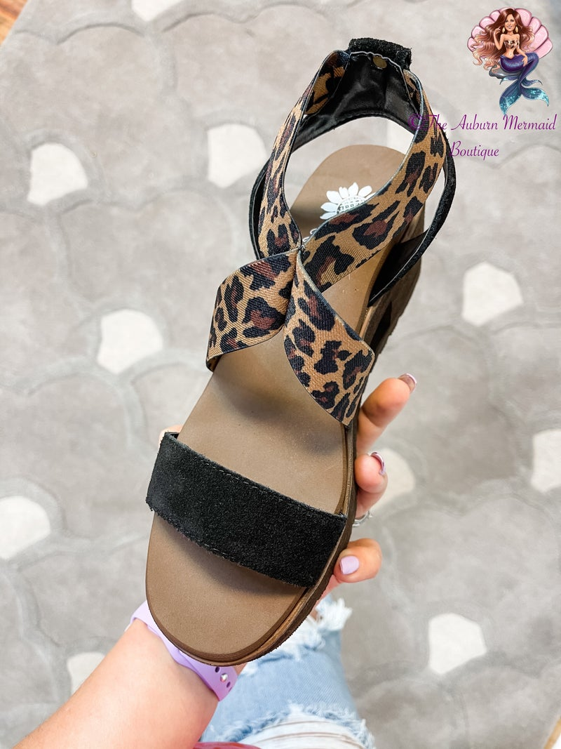 Yellowbox Leopard Presley Wedges *Final Sale*
