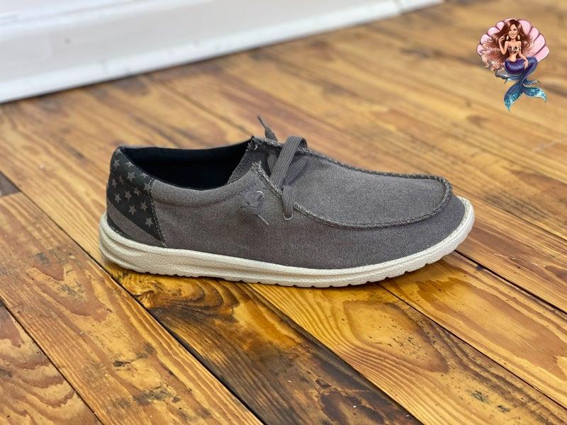 Men's Grey Cade Shoes