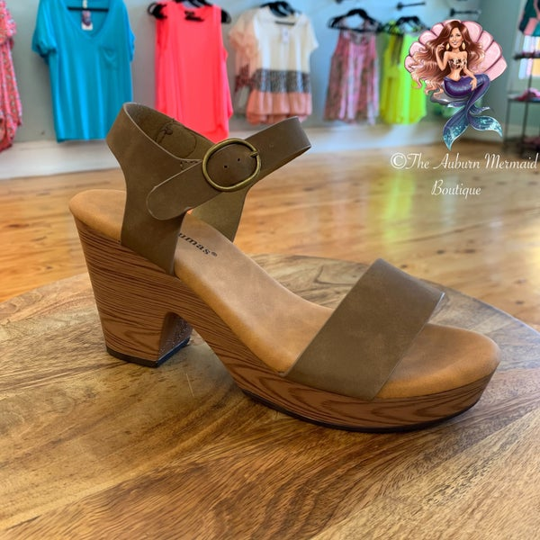 Taupe Clogs