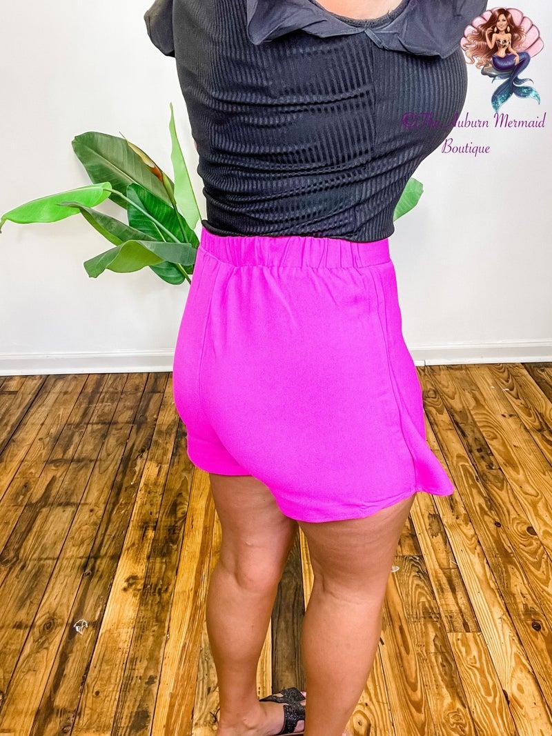 Free Soul Magenta Shorts