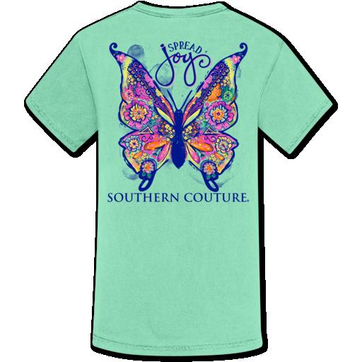 Spread Joy Butterfly Tee *Final Sale*