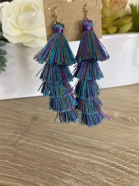 Mermaid Tassel Earrings
