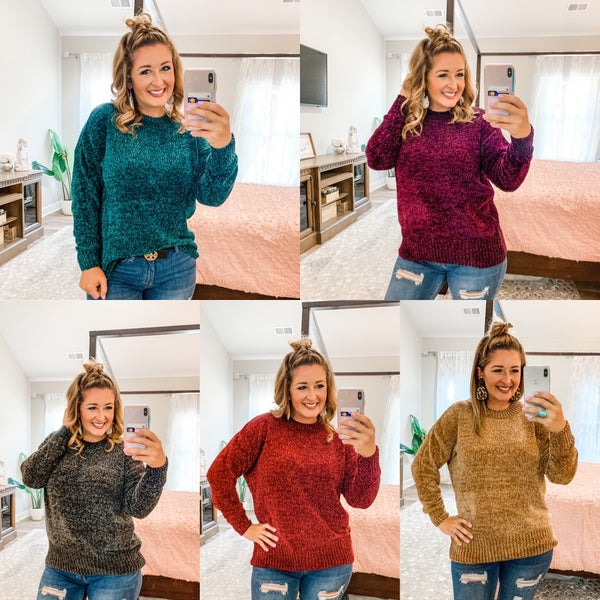 Chenille Sweaters