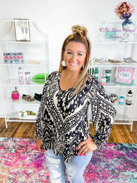 Style On Repeat Long Sleeve Blouse
