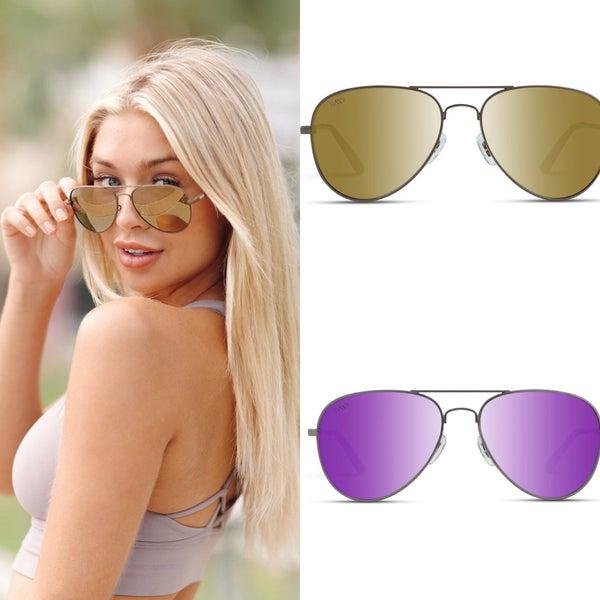Zion Polarized Aviator Sunglasses