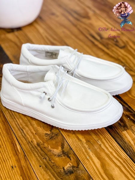 Keep It Classic White Sneakers