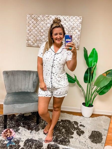 White Star Pajama Set