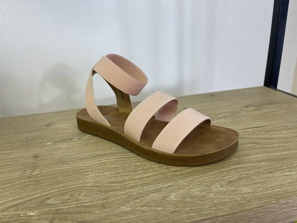 Blush Ankle Strap Sandal *Final Sale*
