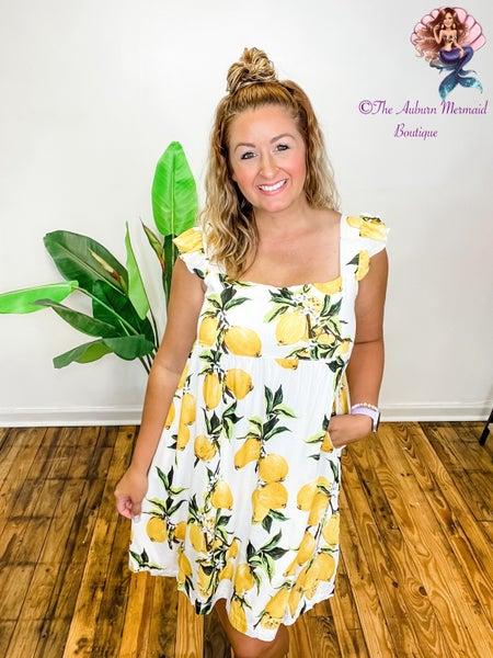 Lemon Squeezy Sun Dress
