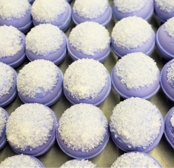 Deluxe Lavender Bath Bombs