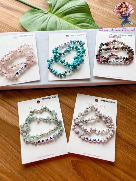 MAMA Stone Bracelets