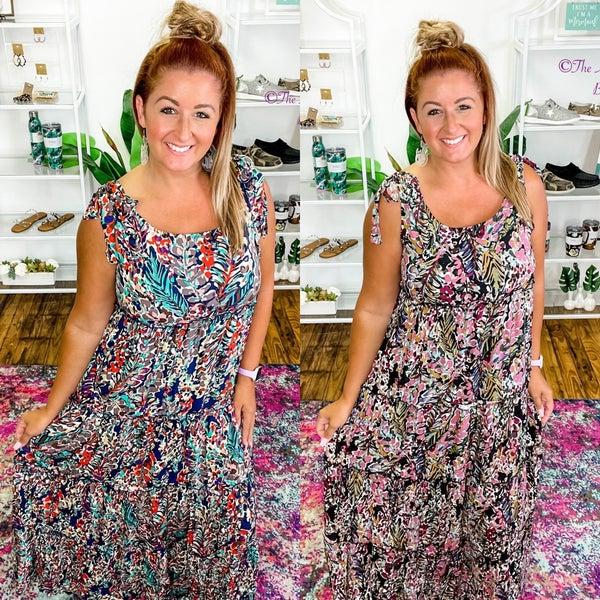 Around The Town Maxi Dress