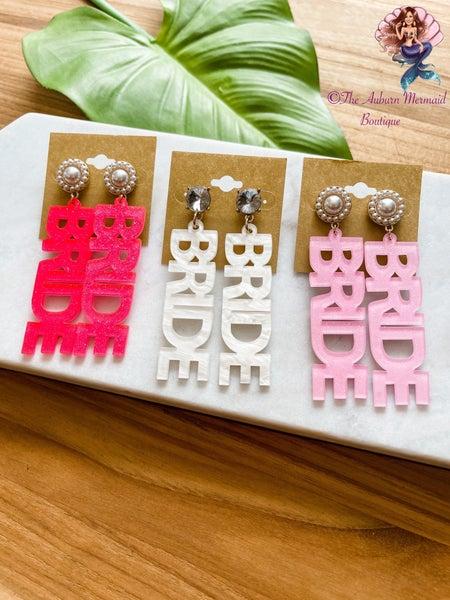 Glitter Bride Earrings
