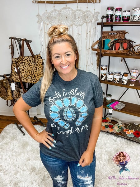 Boots & Bling Tee