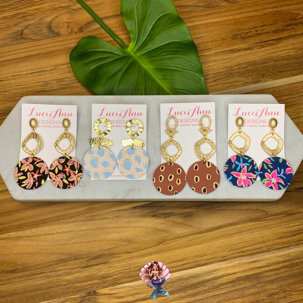 Large Lucie Ann Earrings