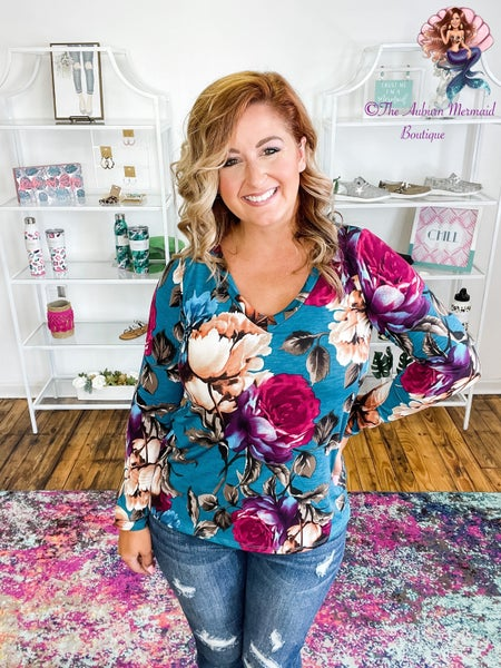 Stay Beautiful Floral Top