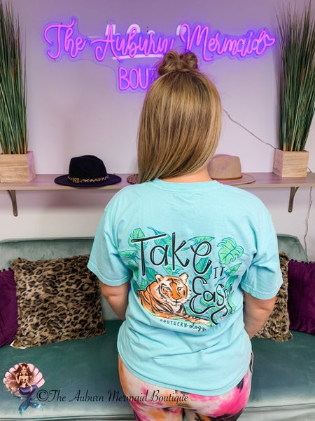 Take it Easy Tiger Tee