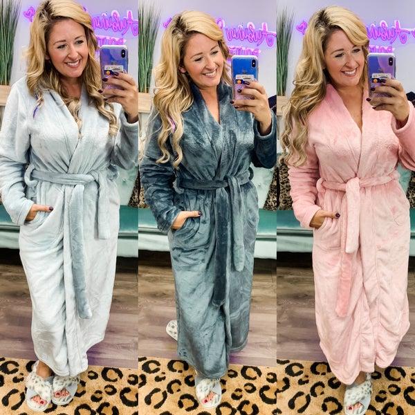 Maxi Length Plush Robes