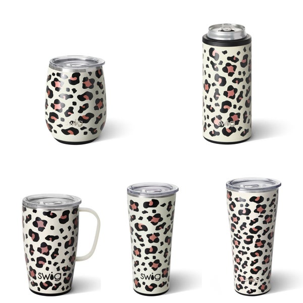 Luxy Leopard Swigs