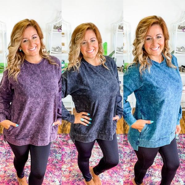 Stone Wash Sweatshirt