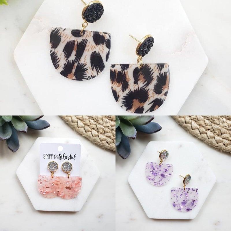 Lola Druzy Earrings