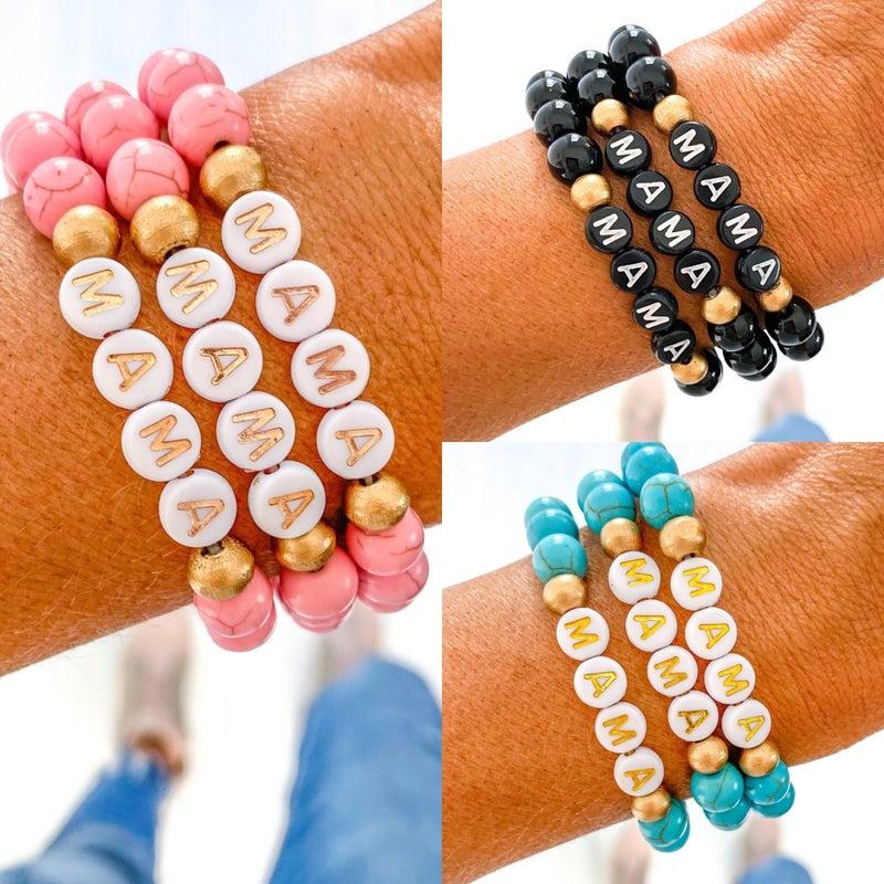Mama Beaded Bracelets