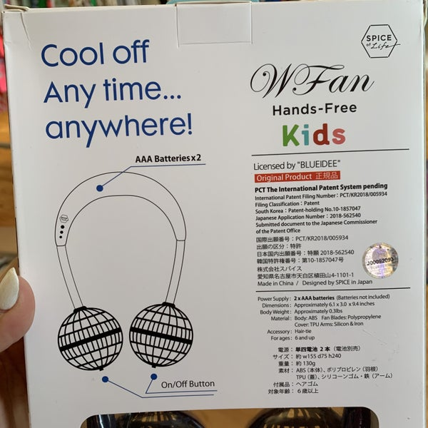 Kids Portable Neck Fans