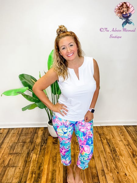 Dream On Lilly Floral Cropped Pants