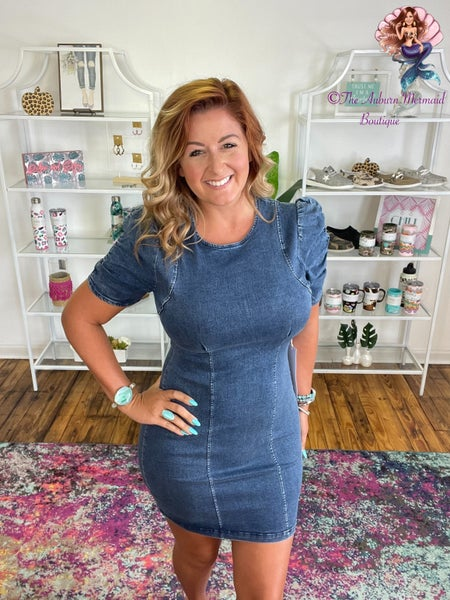 Finding The One Denim Dress