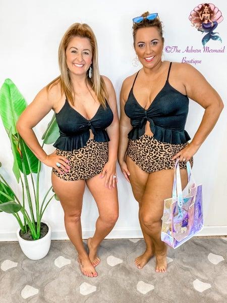 Summer Waves Black Bikini Top *Final Sale*