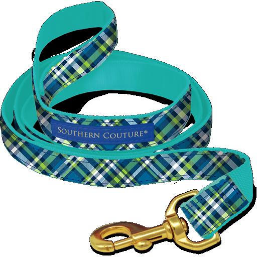 Plaid Dog Collars & Leashes