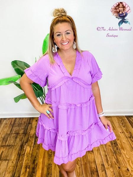 In The Spotlight Ruffle Dress