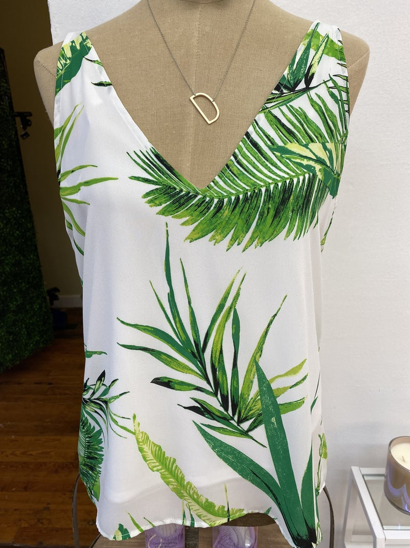Lets go to the beach White Tropical *Final Sale*