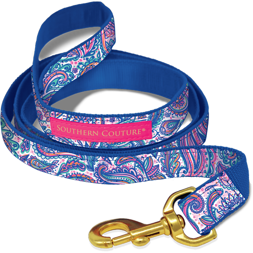 Paisley Dog Collars & Leashes