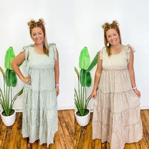 Last One Standing Maxi Dress