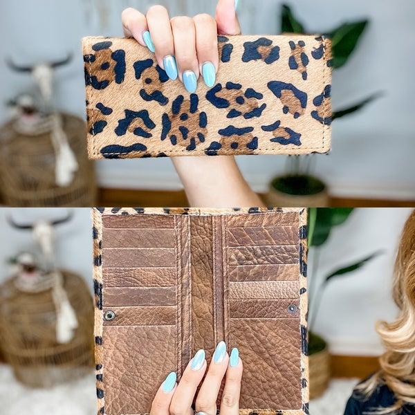 Leopard Leather Wallet