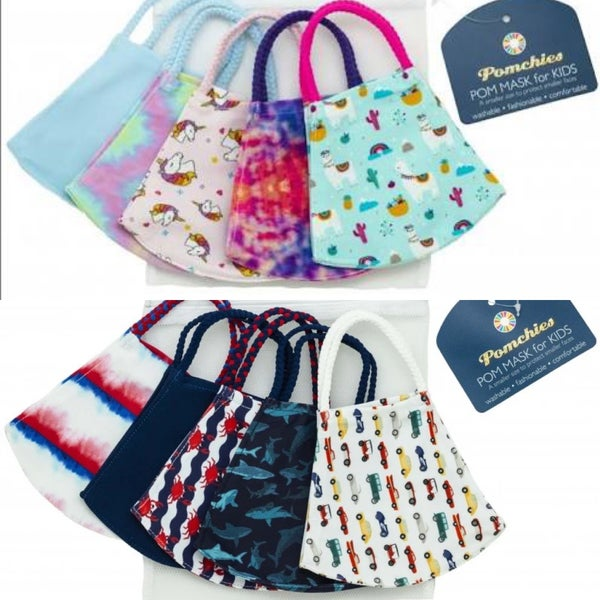 Kids Pomchie Face Covers