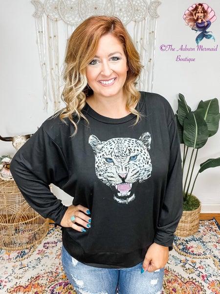 Cheetah Face Sweatshirt