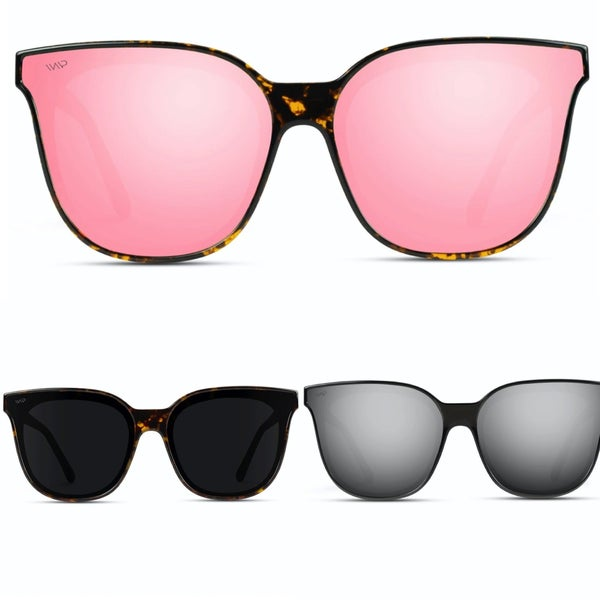 Polarized Oversized Cat Eye Sunglasses