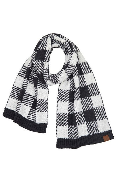 Cozy Buffalo Check Scarf *Final Sale*
