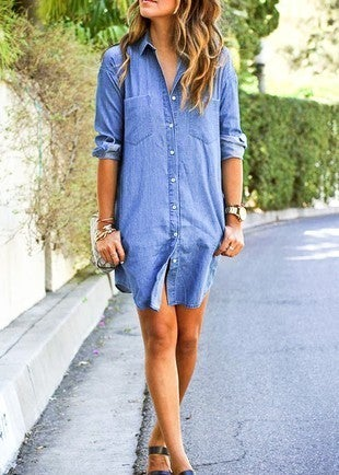 Light Denim Dress *Final Sale*