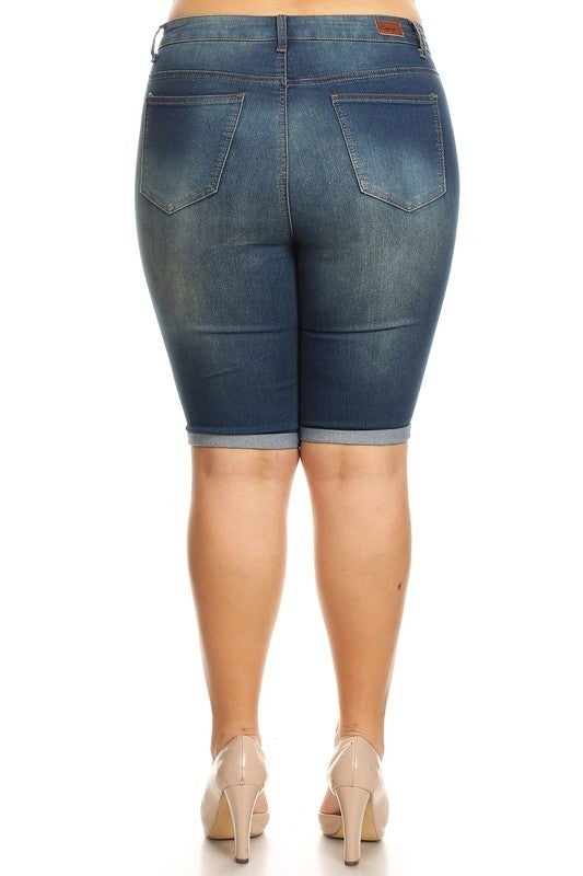 Curvy Bermuda Shorts *Final Sale*