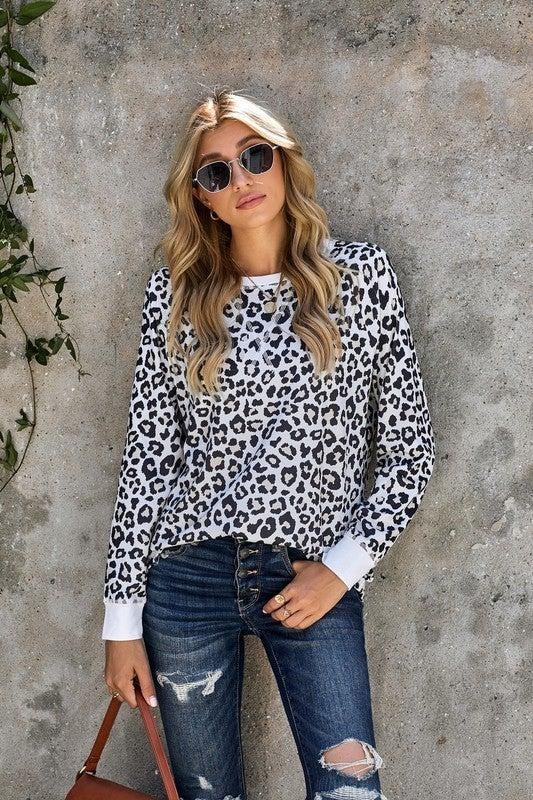 Leopard-Chic Top