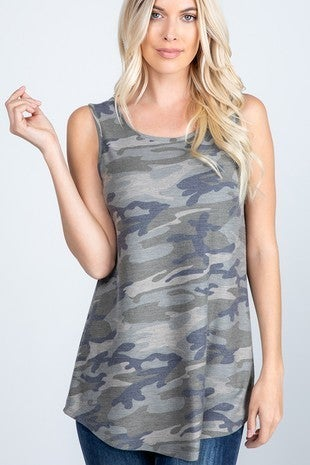 Twisted Camo Top