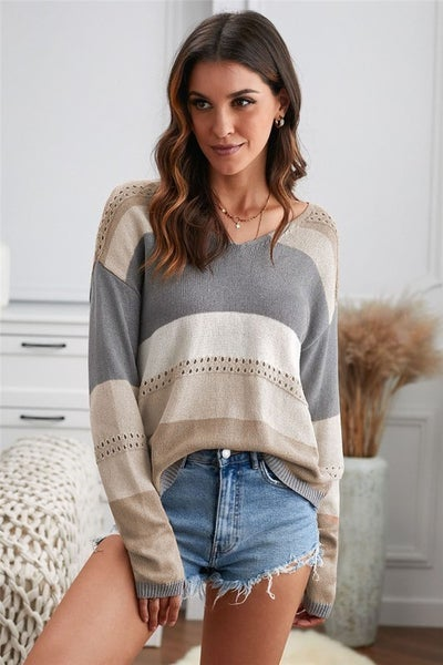 Shades of Grey Sweater