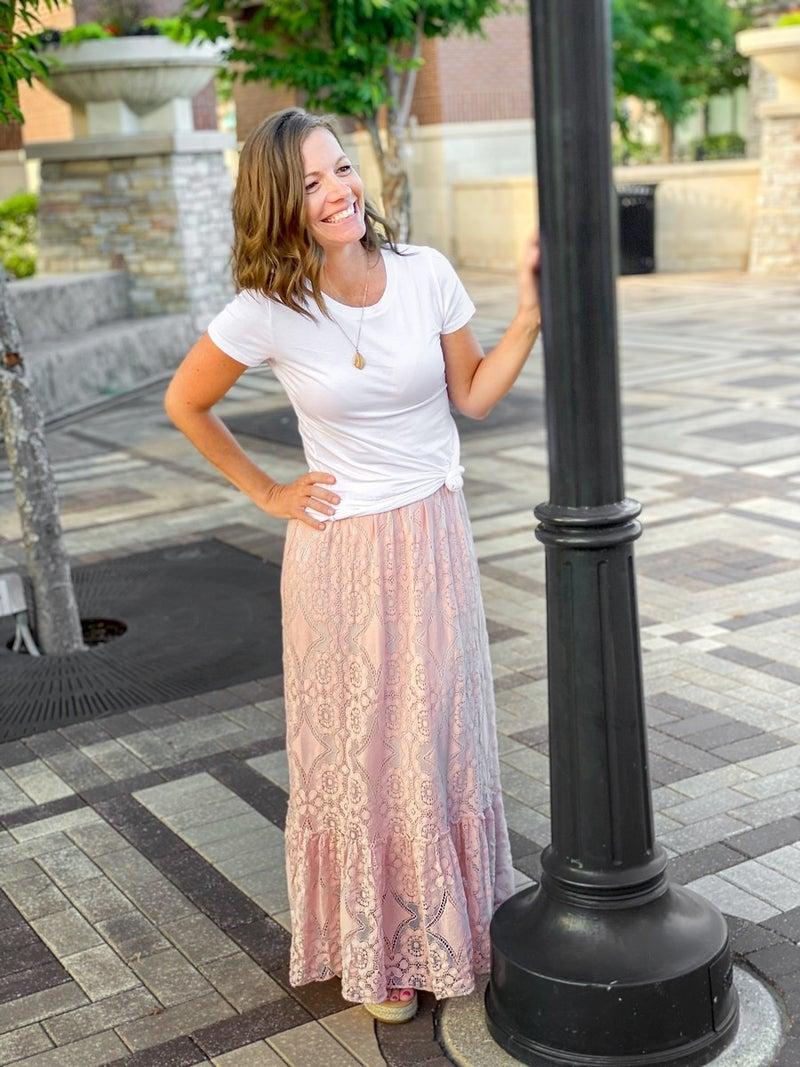 Lacey Boho Skirt *Final Sale*